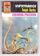INFILTRADOS by Ralph Barby - 1983 Spanish language science fiction paperback.