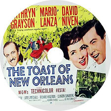 The Toast of New Orleans DVD Mario Lanza Kathryn Grayson David Niven Rare 1950