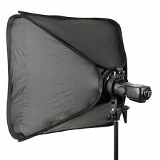 Godox S-Type Bowens Speedlite Bracket + 60x60cm Speedlite Foldable Softbox + Bag