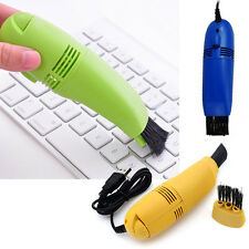 Computer Laptop PC Keyboard USB Mini Vacuum Cleaner Desktop Accessories Random