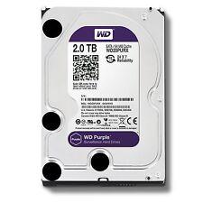 """2TB WD Purple Surveillance Sata Hard Drive 3.5"""" Western Digital WD20PURX //"""