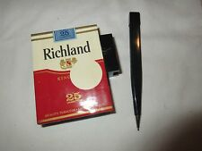 "Cigarettes, Promotion, ""Richland"" Box With Pen, Lot of 2 , Vintage , Rare"