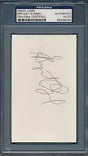 Bryant Gumbel Signed Index Card PSA/DNA Certified Authentic Auto *8492