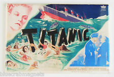 Titanic (1953) (France) FRIDGE MAGNET (2 x 3 inches) movie poster french