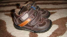 NEW ECCO 19 BROWN LEATHER SHOES 4 4.5