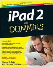 iPad2 for Dummies 3rd Edition 2012 Paperback Baig LeVitus for iOS 5