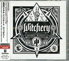 WITCHERY-IN HIS INFERNAL MAJESTY'S SERVICE-JAPAN CD BONUS TRACK F30