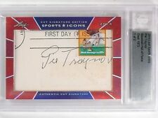 2014 Leaf Sports Icons Pie Traynor autograph auto #D1/2 HOF BGS Slabbed *56317