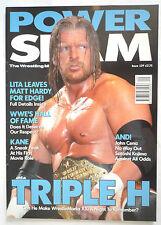 POWERSLAM MAGAZINE / ISSUE 129 / TRIPLE H / BATISTA POSTER / NM