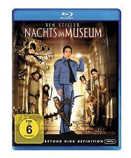 Nachts im Museum ( BLU-RAY ) mit Ben Stiller, Robin Williams, Ricky Gervais NEU