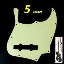 NUOVO BATTIPENNA Jazz Basso green 5 corde 3p per Fender, Squier o altro ecc.