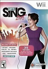 Let's Sing 2016 Brand New Complete Factory Sealed Nintendo Wii Ships to Canada!