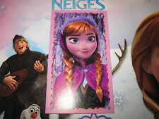 PANINI DISNEY FROZEN LA REINE DES NEIGES AUTOCOLLANT STICKER N°A10 BRILLANT RARE