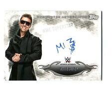 WWE The Miz 2015 Topps Undisputed Authentic On Card Autograph DWC2