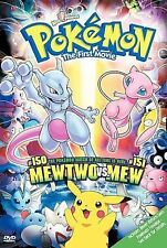 Pokemon the First Movie: Mewtwo Strikes Back (DVD, 2000)