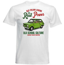 VINTAGE ITALIAN CAR FIAT 126 - NEW COTTON T-SHIRT