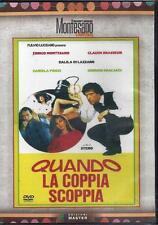 Dvd **QUANDO LA COPPIA SCOPPIA** con E. Montesano D. Di Lazzaro nuovo 1981