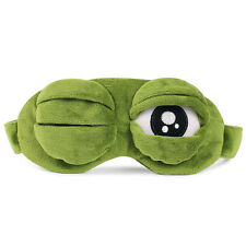 3D Eye Mask Sad Frog Sleeping Funny Cosplay Toys Costumes Accessories