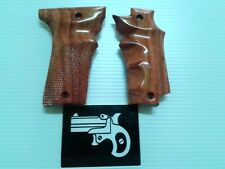 BROWN COFFEE NORINCO 213B GRIP MODELS TOKAREV CHECKERED CRAFT SKILL HANDMADE FIT