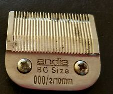 Andis BG Size 000 Clipper Blade for Oster, Andis & Wahl 76 style clippers