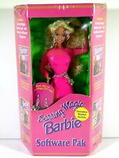 NIB BARBIE DOLL 1992 EARRING MAGIC SOFTWARE PAK