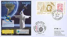 """VA220L-T1 FDC KOUROU """"Fusée ARIANE 5 - Vol 220 / INTELSAT-30 & ARSAT-1"""" 2014"""