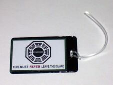 LOST Dharma DO NOT REMOVE Luggage or Book Bag Tag prop