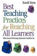 Best Teaching Practices for Reaching All Learners: What Award-Winning Classroom