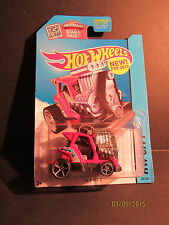 2015 Hot Wheels Q Case K Mart 9/5/15 Release #68 Tee'd Off 2 Red