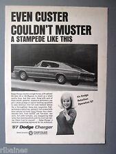 R&L Ex-Mag Advert: '67 Dodge Charger, 426 Hemi V8 or 440 Magnum