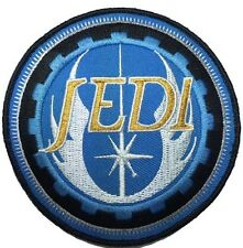 STAR WARS JEDI ORDER LOGO TACTICAL MORALE 3.5 INCH ROUND HOOK PATCH