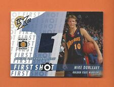 2002-03 TOPPS XPECTATIONS RC MIKE DUNLEAVY JERSEY #FS-MD GOLDEN STATE WARRIORS