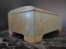 coffret à bijoux en marbre de Carrare Italie art-déco CERAMIC by PN