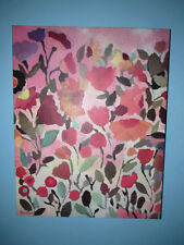 Kim Parker Abstract Floral Canvas Transfer 28 x 22 World Market