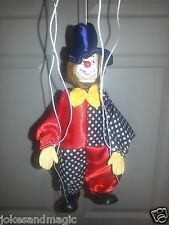 TELLON COLLECTION FUNNY CLOWN string marionette puppet  puppets clown jester
