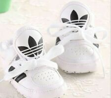 Adidas PU Lace Style Baby Boys/Girls Soft Bottom  Trainers Spring Recreational.