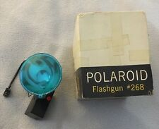 Vintage Polaroid Camera Flashgun #268 in Original Box For Parts Or Repair