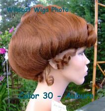 Gibson Girl Wig .. Gorgeous Theatre or Costume Wig .. COLOR CHOICE *