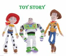 "Disney Toy story Characters 8"" Soft Plush Toy - Posh Paws All 3 of them!"