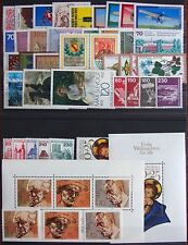 Germany Complete Year 1978 Stamp Set w/ SS Mint Never Hinged MNH German Stamps