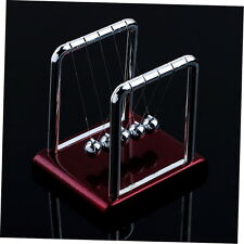 Newton's Cradle Steel Balance Balls Desk Physics Science Pendulum Desk Toy GU