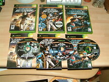 STAR WARS BATTLEFRONT 1 + 2 II + REPUBLIC COMMANDO...XBOX & 360 GAMES PAL