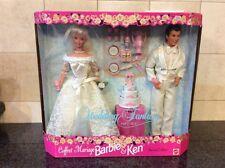 WEDDING FANTASY  BARBIE AND KEN MARRIAGE SET MATTEL 17243