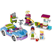 Friends Mia's Roadster Service Station Building Blocks Minifigures Girl Toys