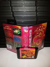 Link Dragon -  arcade Video Game for Sega Genesis! Cart & Box!