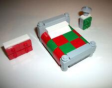 LEGO Furniture Winter Village Bedroom Set 4MOCSET 10229 10245 10197 10190 10199