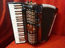 NEW Beltuna Piano Accordion Prestige III Walnut Root LMM  42 / 120 Made in Italy