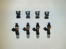 4 Genuine Bosch EV14 52lb 550cc fuel injectors 96+ Honda Civic Integra OBD2 11MM