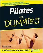 Pilates For Dummies by Ellie Herman, EXERCISE. YOGA, BOOK, BRAND NEW
