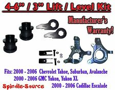 "2000- 2006 Chevrolet GMC 1500  4"" - 6"" / 3"" Lift Kit Spindles Spacer Keys EXT"